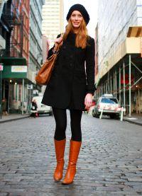 co boty nosit s kabátem 1