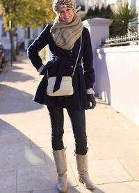 co boty nosit s kabátem 2