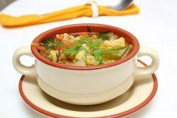 Супа цветача у месној јухо