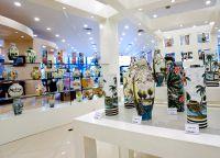 Магазин керамики в Бельгии