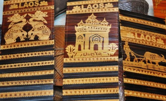 Плетеные изделия из Лаоса