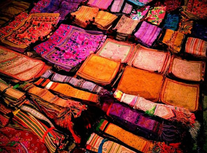 Текстильные изделия из Лаоса