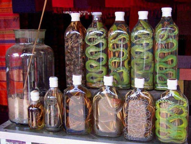 Спиртные напитки из Лаоса
