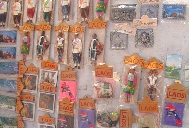 Сувениры из Лаоса
