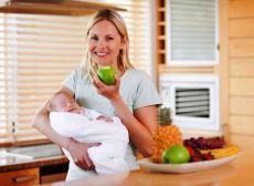 co jeść po urodzeniu matki karmiącej
