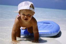 što dijete treba na moru