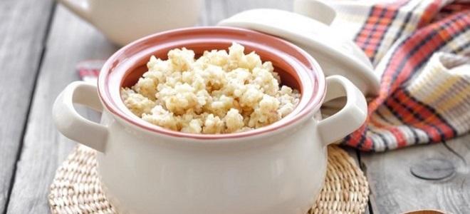 žitarica pšenice s mlijekom