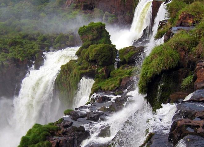 Водопады Аргентины