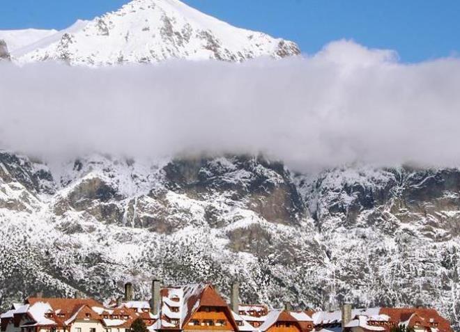 Пора покататься на горных лыжах