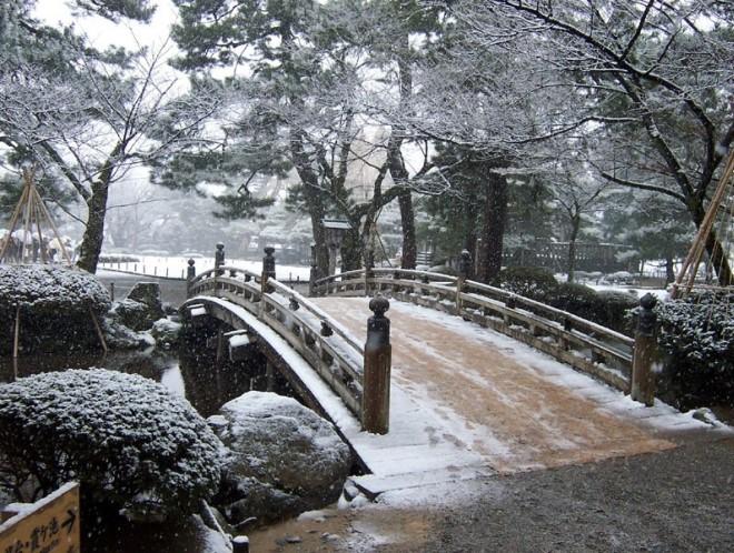 Японская зима