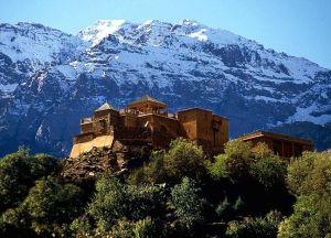 Уникальный отель в горах Kasbah du Toubkal