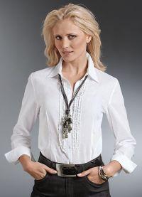 biała bluzka 2013 8