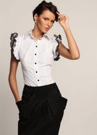 biała bluzka 2013 9