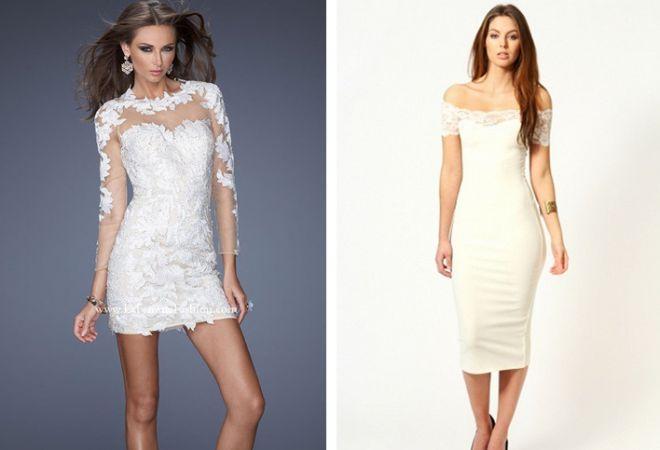 bílé šaty 10