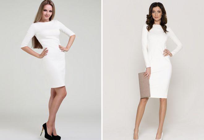bílé šaty 18