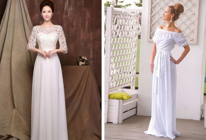 bílé šaty 4