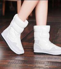 Białe kobiece buty 2