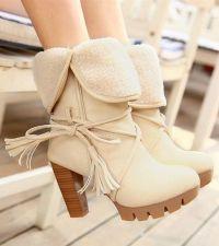 Białe buty damskie 3