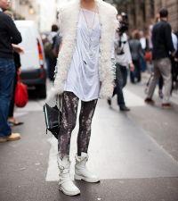 Białe kobiece buty 4