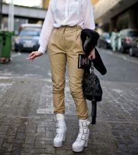 Białe buty damskie 5