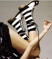 Białe kobiece buty 7