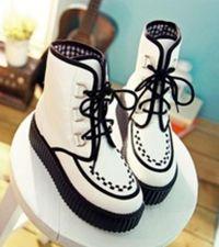 Białe buty damskie 9