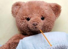opieka nad dziećmi z gorączką