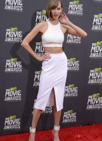 białe spódnice 2013 2