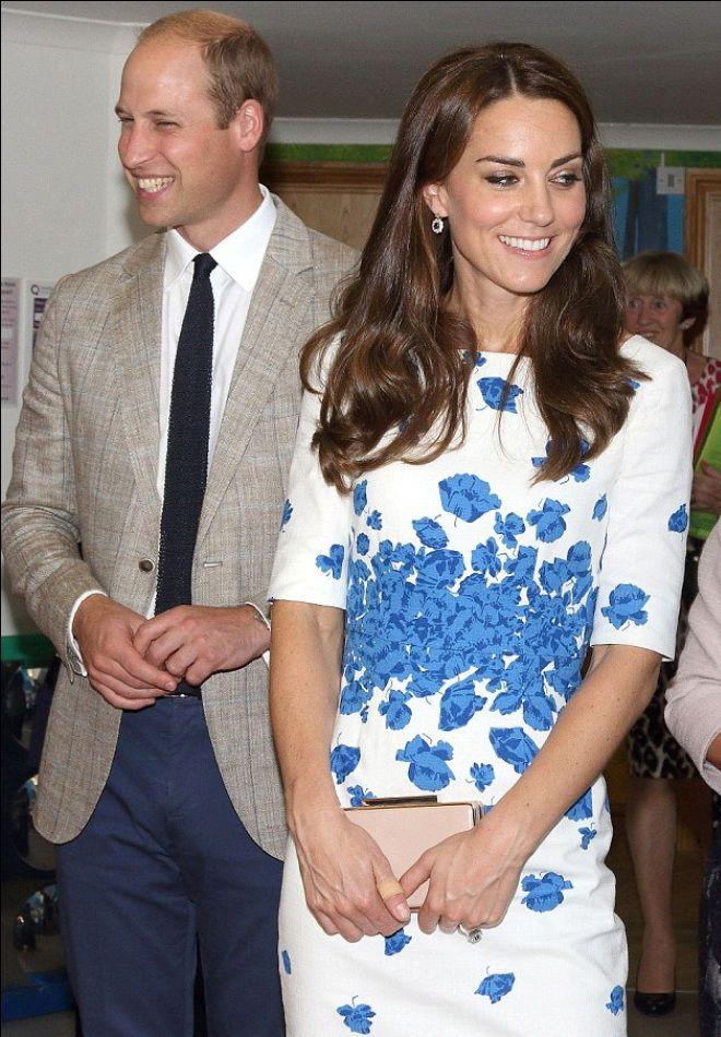 Кейт с мужем