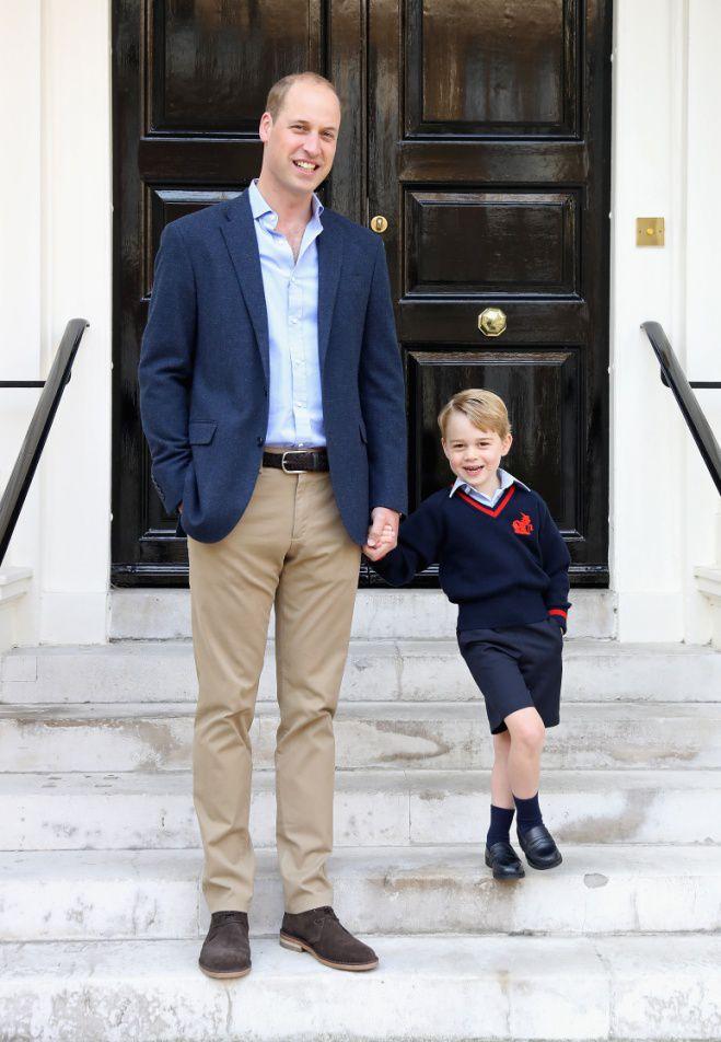 Почему принц Джордж все время носит шорты
