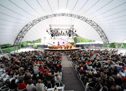 Музыкальный фестиваль в Вильце