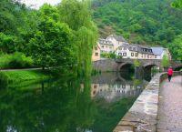 Река Вильц в городе