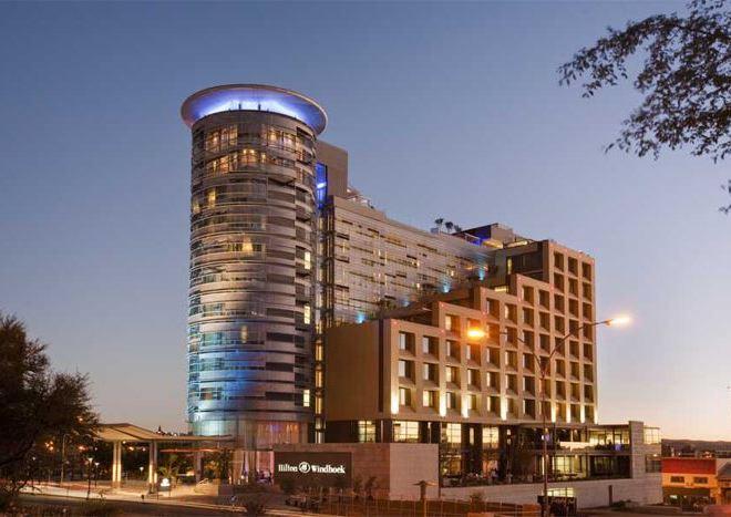 Отель Windhoek Hilton