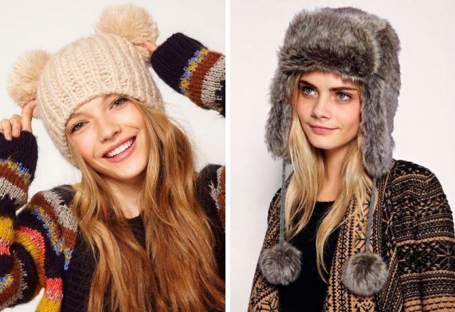 czapki zimowe 1