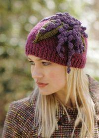 zimowe czapki z dzianiny dla kobiet3