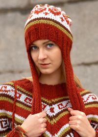 zimowe czapki z dzianiny dla kobiet5