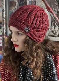 zimowe czapki z dzianiny dla kobiet6
