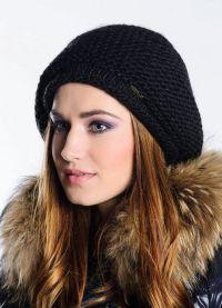 zimowe czapki z dzianiny dla kobiet9