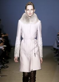 Dámské zimní kabáty s kožešinou 1
