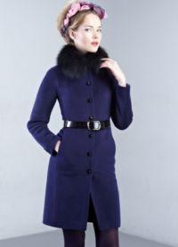 Dámské zimní kabáty s kožešinou 4