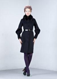 Dámské zimní kabáty s kožešinou 5