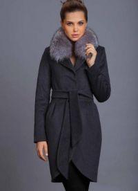 Dámské zimní kabáty s kožešinou 6