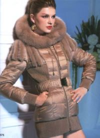 Dámské zimní kabáty s kožešinou 7