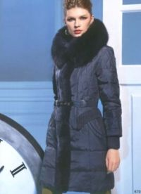 Dámské zimní kabáty s kožešinou 9