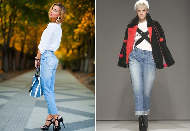 потертые джинсы способны скорректировать фигуру