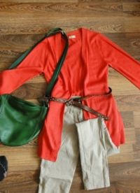 Са чим носити зелену торбу 1
