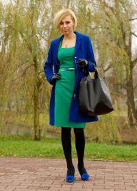 Шта носити са зеленом хаљином 9