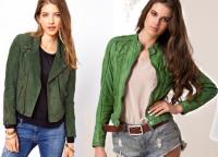 шта да носите са зеленом јакном 3