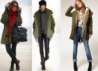шта носити са зеленом јакном 8
