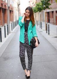 С какво да носиш зелено яке8